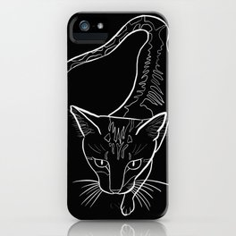 Investigator Kitty iPhone Case
