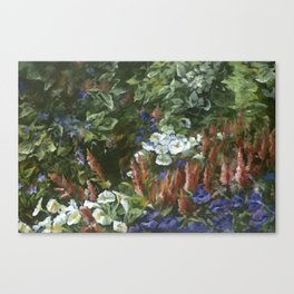 Garden at Grant Park Canvas Print