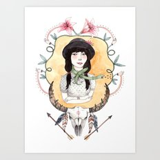 Maryanna Art Print