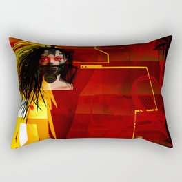 Toxic Love Candy Rectangular Pillow