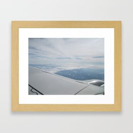 A Wing and a Prayer Framed Art Print