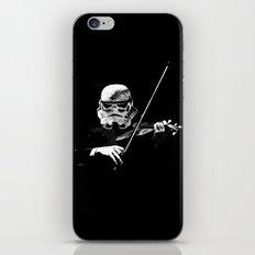 Dark Violinist Warrior iPhone & iPod Skin