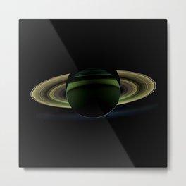 The Rings of Saturn Metal Print
