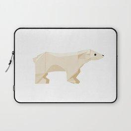 Origami Polar Bear Laptop Sleeve