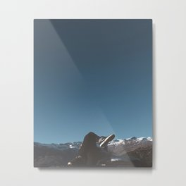 A Very Blue Sky Metal Print