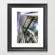 One Canada Square London Framed Art Print