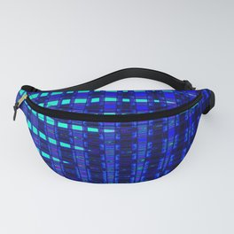 Blue in Shadows Fanny Pack