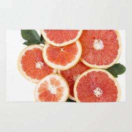 Grapefruit & Roses 01 Rug