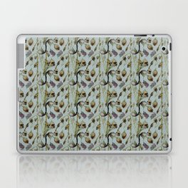 Dead Rose & Snapdragon Pattern Laptop & iPad Skin