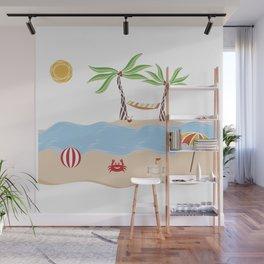 Summer Beach Fun Wall Mural