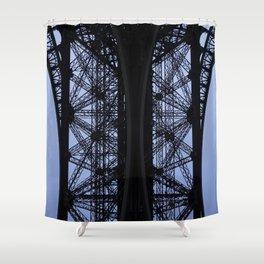 Eiffel Tower - Detail Shower Curtain