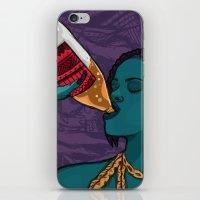 mcfreshcreates iPhone & iPod Skins featuring Drunk Off You by McfreshCreates