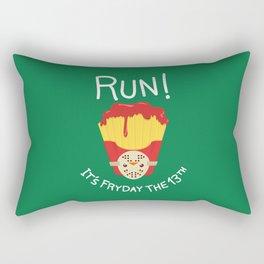 Bloody Fryday! Rectangular Pillow