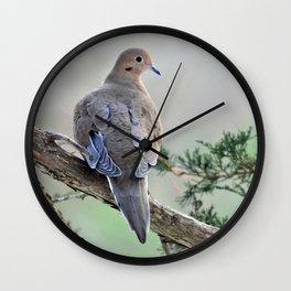 Gentle Dove Wall Clock