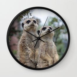 Meerkat Dreamteam Wall Clock