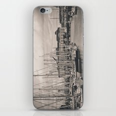 Casino at the harbor iPhone & iPod Skin