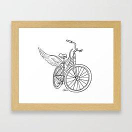 Dream Bike Framed Art Print