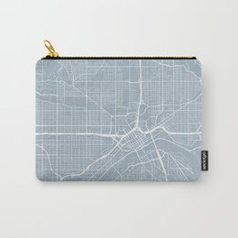 St Paul Map, USA - Slate Carry-All Pouch