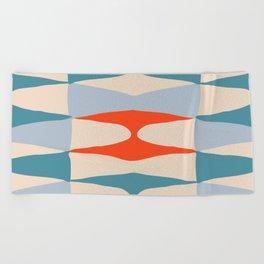 Zaha Marine Beach Towel