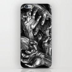 Getting Handsy (smothering, groping, hands) iPhone & iPod Skin