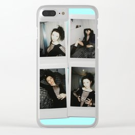 Polaroids Clear iPhone Case