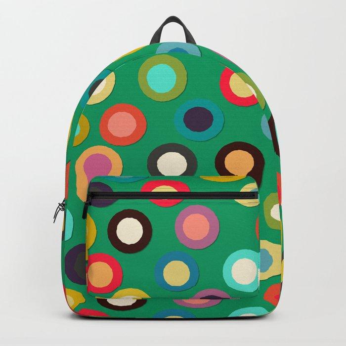 green pop spot Backpack