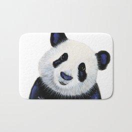 Panda Bear ' HuGSy ' by Shirley MacArthur Bath Mat