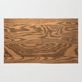 Wood 5, heavily grained wood Horizontal grain Rug