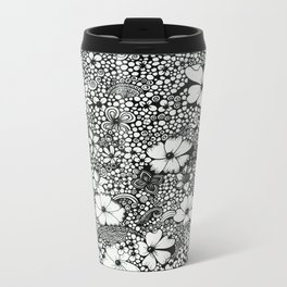 Dots In The Wind Metal Travel Mug