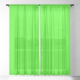 Chroma Key Green Sheer Curtain