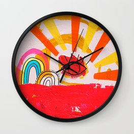Gay Days Wall Clock