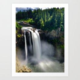 Over the Falls Art Print