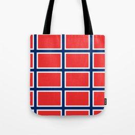 flag of norway Tote Bag