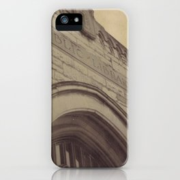Public Library iPhone Case