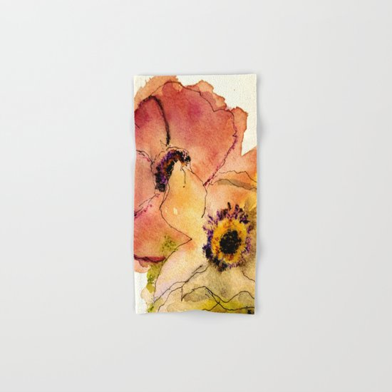 miracle flowers Hand & Bath Towel