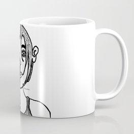 Lady Boxing Coffee Mug