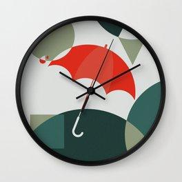 The Umbrella Wall Clock
