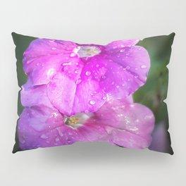 Wet Purple Impatiens Pillow Sham