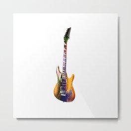 Sounds of music..Guitar. Metal Print