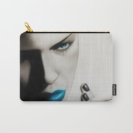 'Azure Addiction' Carry-All Pouch