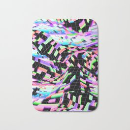 abstract colorful 3d Bath Mat