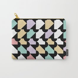 Colourful pastels and shapes Carry-All Pouch