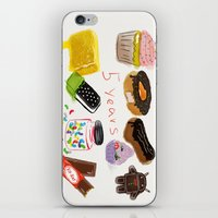 android iPhone & iPod Skins featuring android  by leonov andrew