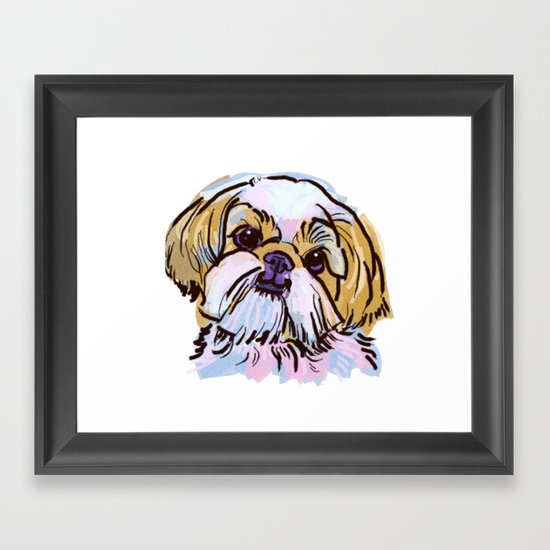 The Shih Tzu always keeps me smiling! by lalanny