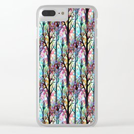 Trees 1 Clear iPhone Case
