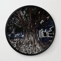 fig Wall Clocks featuring Fig by Shemaine