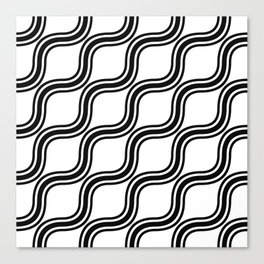 Wiggly Canvas Print