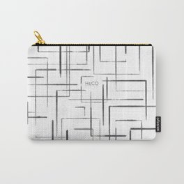 Artsy Squares Carry-All Pouch