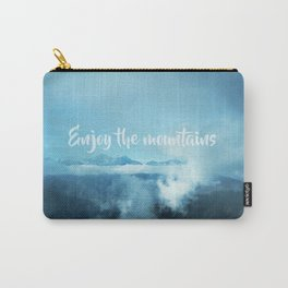 Enjoy the mountains Carry-All Pouch