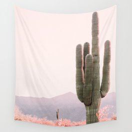 Vintage Cactus Wall Tapestry